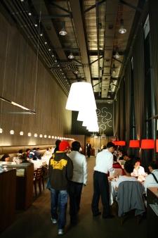 Dinner hallway