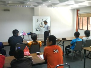 Lecture by Kang Sensei