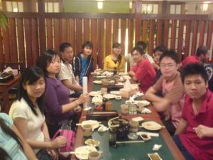 New-members feast