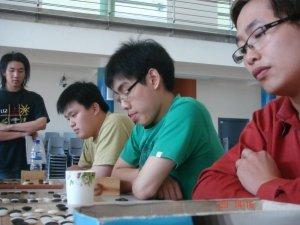 (front to back) Peng Hui, Jien Hann, Chun Khit