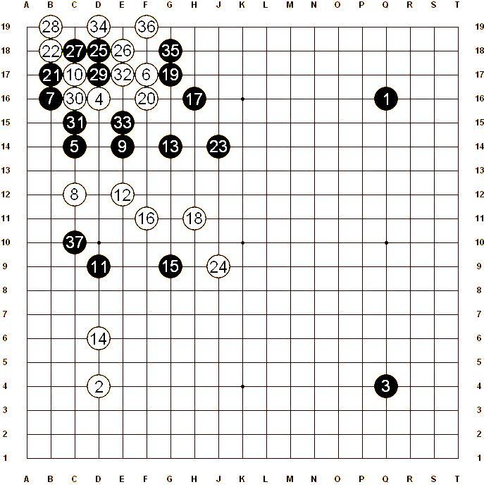 (White) So Yokoku, 8p - (Black) Yamada Kimio, 9p