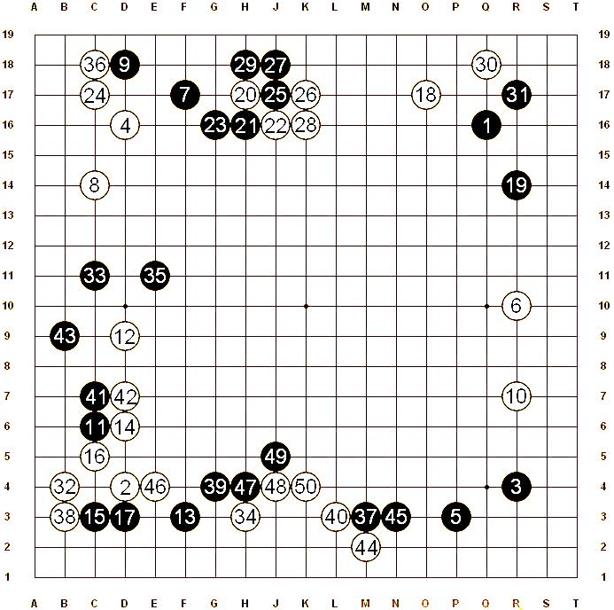 (White) Zhang Xuan, 1p - (Black) Kurahashi Masayuki, 1p