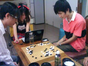 1st Round 五番碁 between Philip - Xinwen