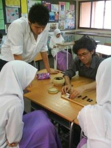 Haidar tutoring
