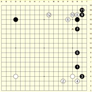 Figure 1 (Move 1 - 12)