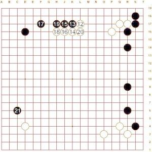 Figure 2 (Move 12 - 21)