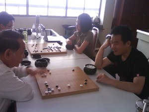 Lao Zhuang vs Guest from China (est. 5dan)