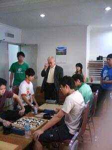 Wynes vs Jimmy (Observer: Japan Club Shogi's President)