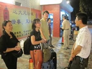Hui Yee, her mum and Zhe Fan