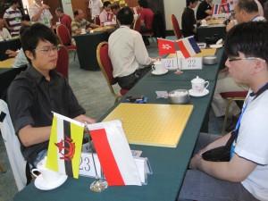 Zhe Fan (1-dan) vs Edwin Halim (2-dan)