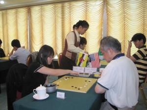 Sung Hui Yee 5-kyu vs Yan ZhongTai 6-dan
