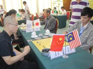 Li Hao Hai, 黎浩海 (4-dan) vs Wynes Leong