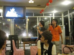 Singing K