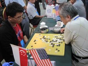 Teck Wei vs Zhong Tai (6-dan)