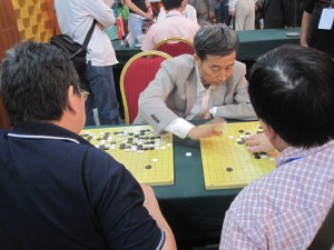 The president of Chinese weiqi Association