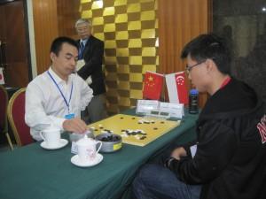 甘新宇 vs Yeo Teck Wei (2-dan)