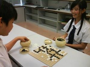 Ke Shin giggle when winning