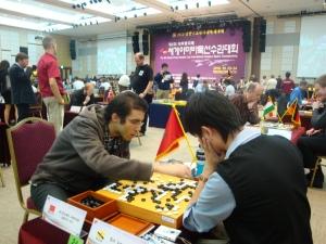 Alouah Amine vs Xinwen