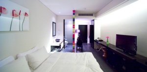 Rainbow theme of Si Xiang's Room