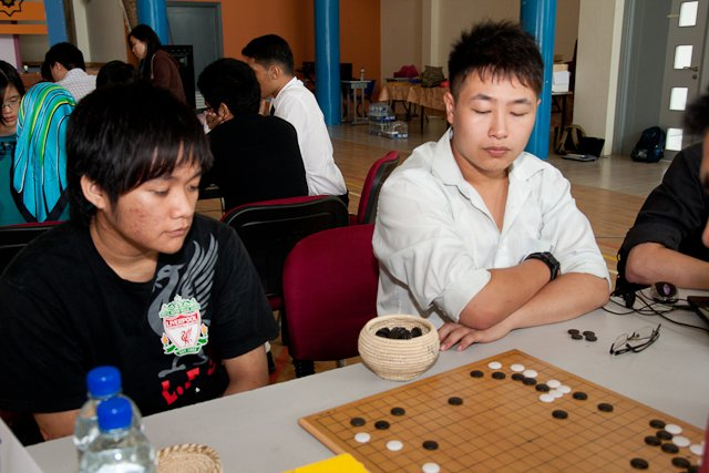 Martin (L) and PengHui (R)