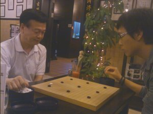 Johnny Jao(饶叔人) and Matt Voon