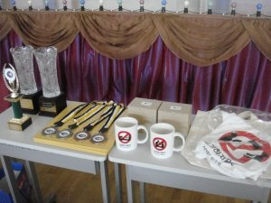 Prizes prepared