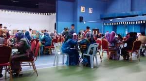 Celebration in Pusat Belia