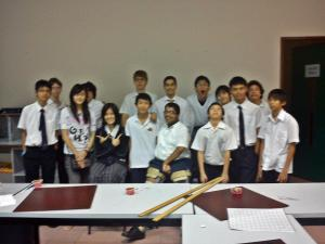 Group picture of JIS Go Club