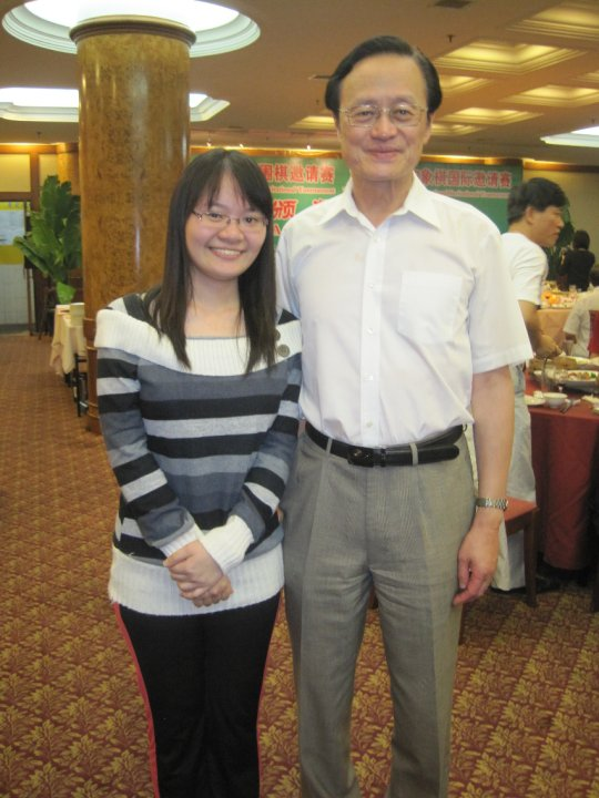 Hui Yee with Chen ZuDe (陈祖德)