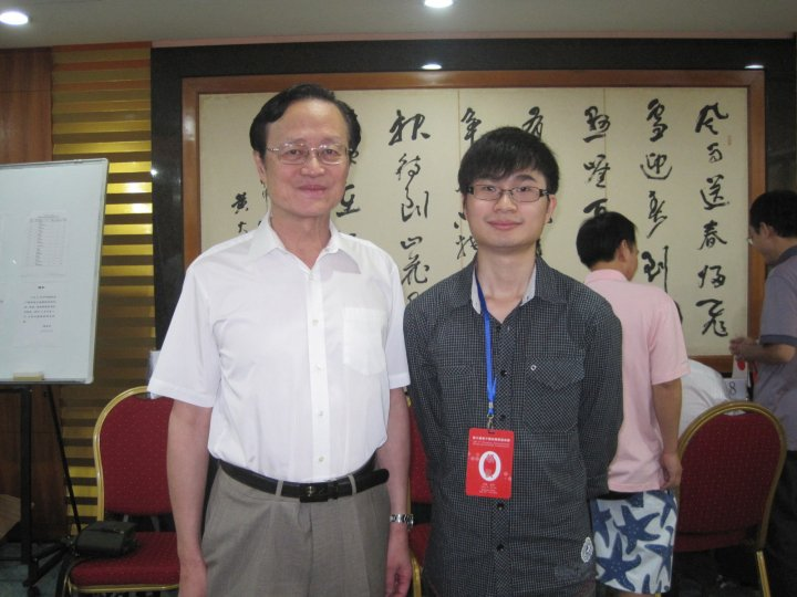 Xinwen with Chen ZuDe, 2010