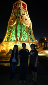 First night to Jerudong Musical Fountain