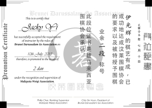 Promotion Certificate Sample