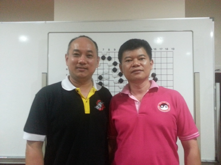 Jacky Yin with Mr.Tiong