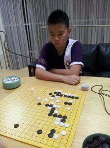 5-dan visitor from China