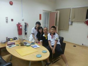 Group Picture with Jacky and 家宏