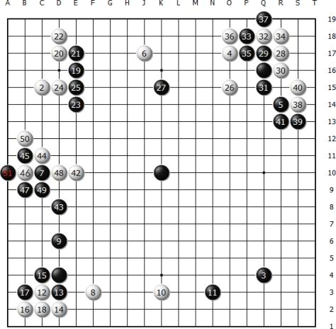 Diagram 1 (Move 1 - 51)