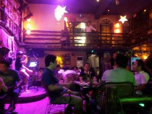 Atmosphere in Guangxi Pub
