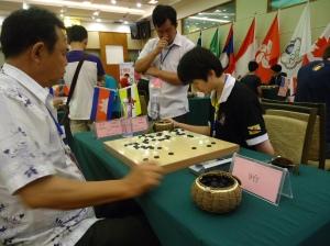 First Round vs ZhaoJun