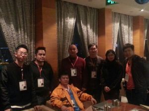 With the Malaysia Team