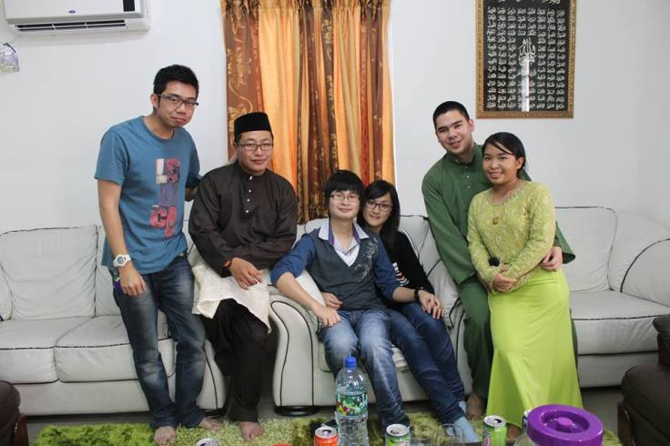 Open House at Lumut with Sid and his wife