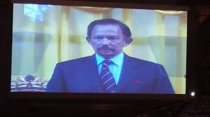 HIs Majesty Sultan of Brunei