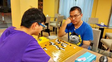Xinwen (White) vs Michael (Black)