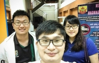 With Liang How and Chai Hui at RTB