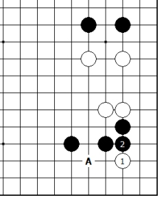 Diagram 13 - Black Strongest Move