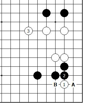 Diagram 16 - White can Tenuki