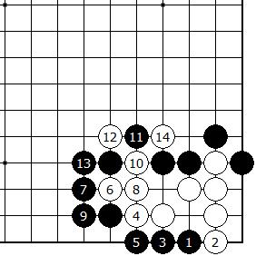 Diagram 7- Black cannot kill white