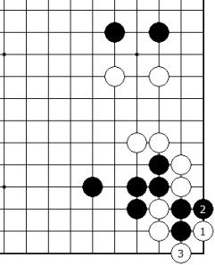 Diagram 4 - White Tesuji