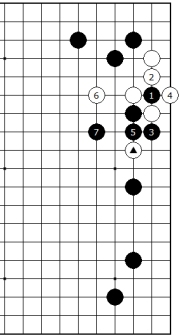 Diagram 6 - White has problem