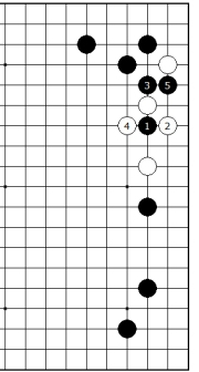 Diagram 8 - Black has aji