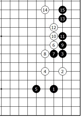 Diagram 8 - Joseki